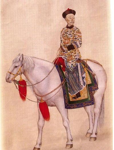A Manchu warrior