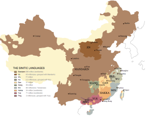 From: Language Atlas of China